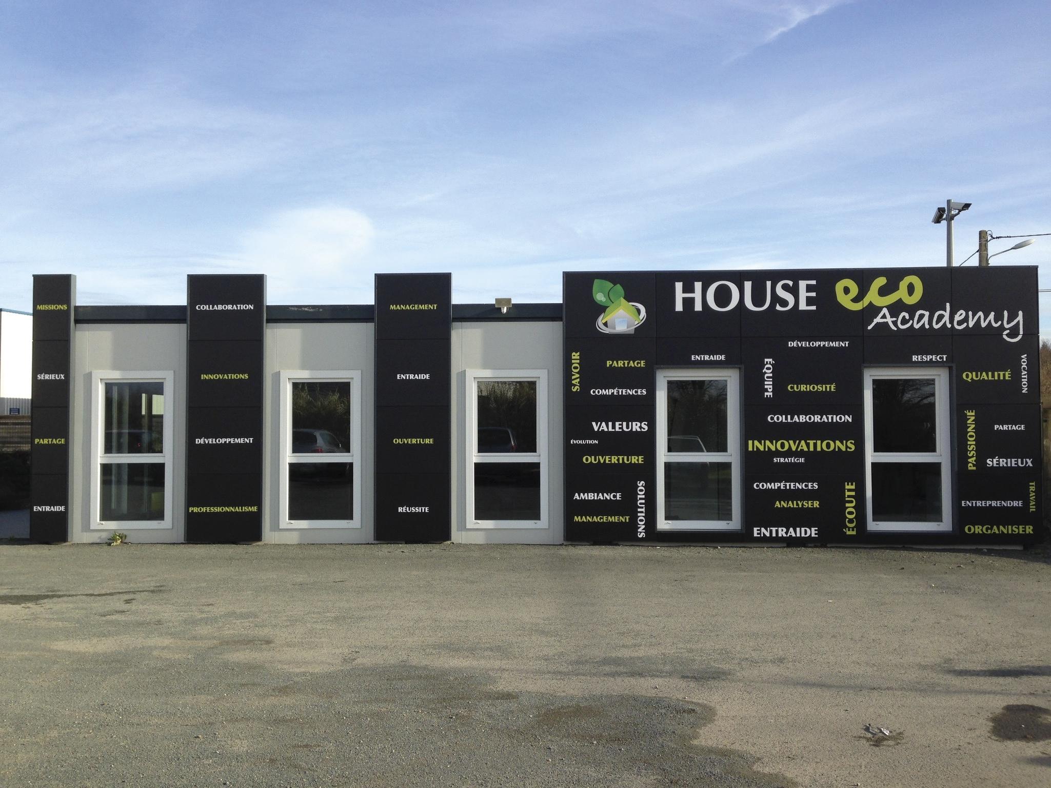 Facade du showroom House Eco à Angers