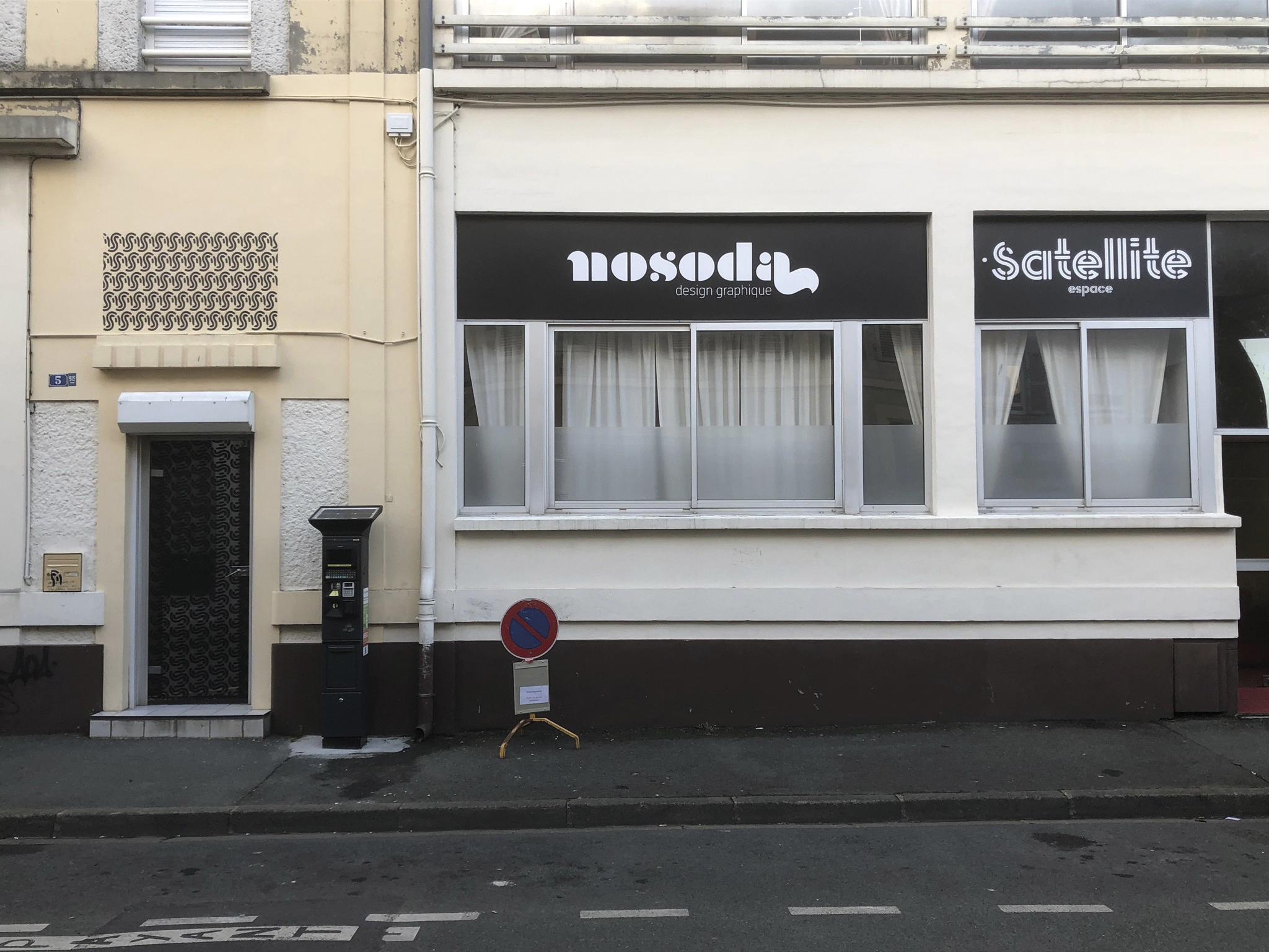 Façade Agence Nosoda à Angers