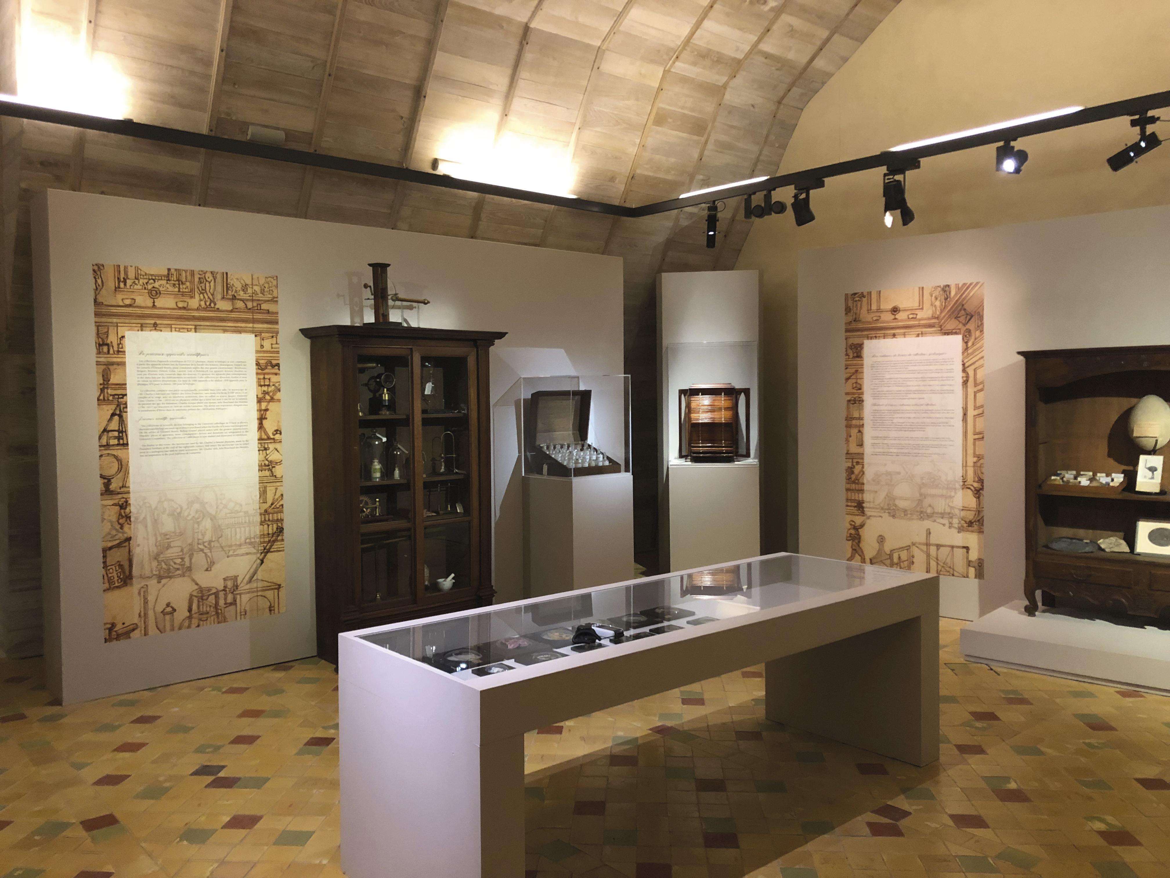 Salle d'exposition Les chambres des merveilles au Château d'angers