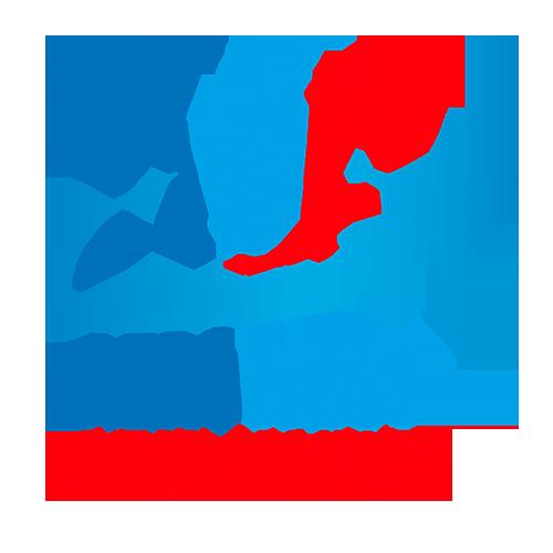 Logo entreprise AeroWest Développement dessinée par Elographic