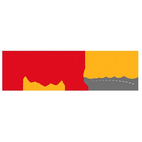 Logo Auto école Happy Drive dessinée par Elographic