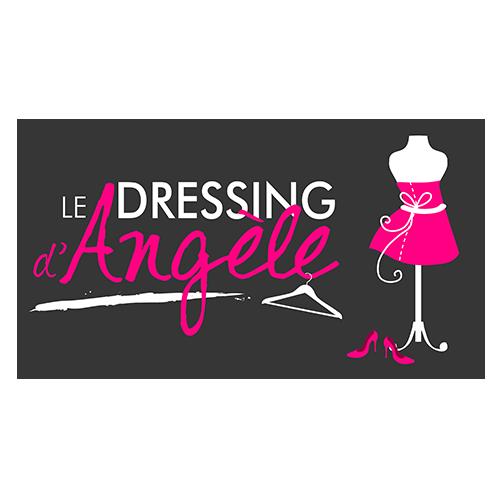 Logo le Dressing d'Adèle dessiné par Elographic