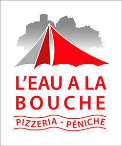 Logo du restaurant l'eau à la bouche dessinée par Elographic
