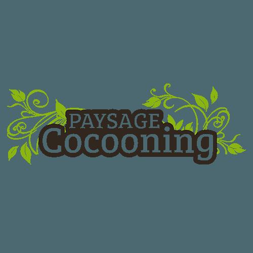 Logo Paysage Cocooning dessiné par Elographic