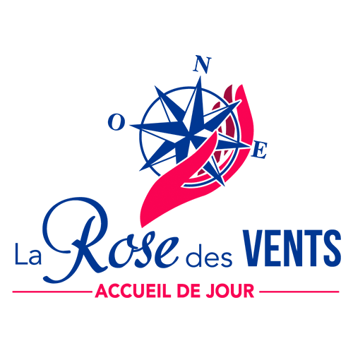 Logo La Rose des vents dessiné par Elographic