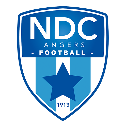 Logo Club de Foot NDC Angers dessiné par Elographic